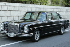 Mercedes-Benz 250SE 1968s / BLACK