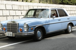 Mercedes-Benz 280SE4.5 1972s / BLUE WHITE