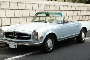 Mercedes-Benz 280SL 1970s