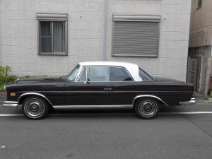 Mercedes-Benz 280SE 3.5 BROWN 1970
