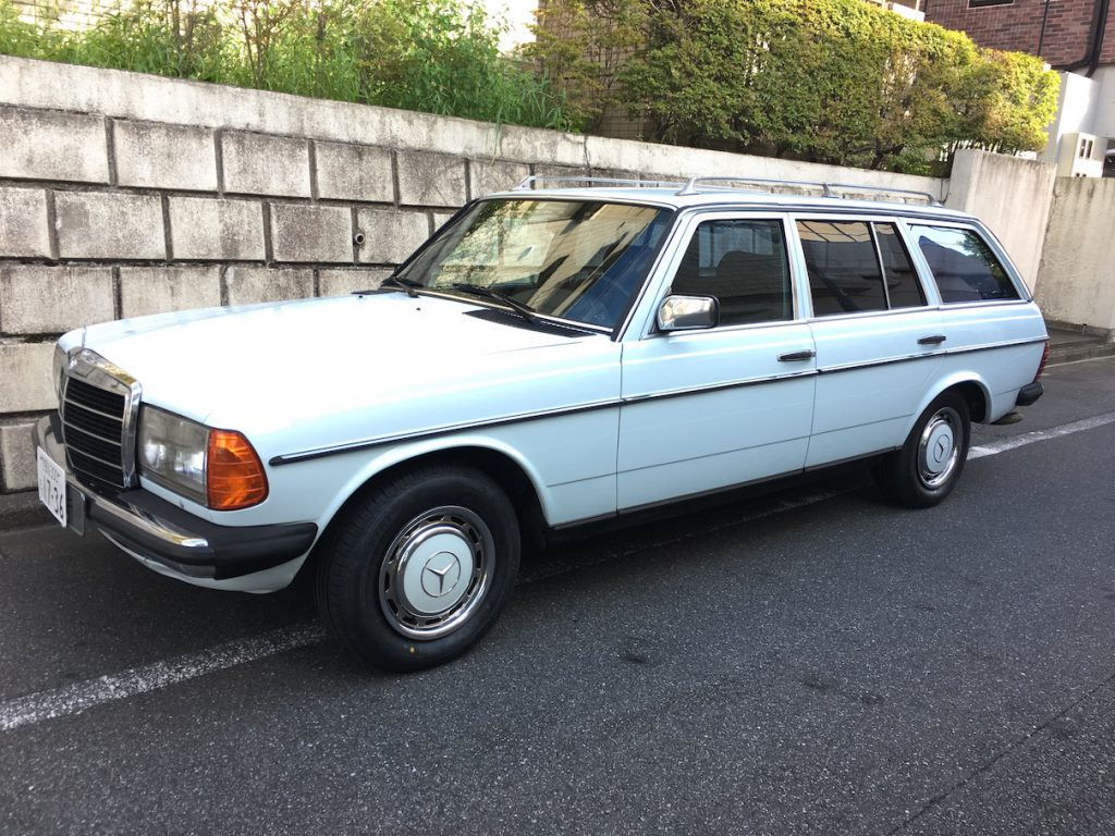 Mercedes-Benz 280TE / 1982 - Blue